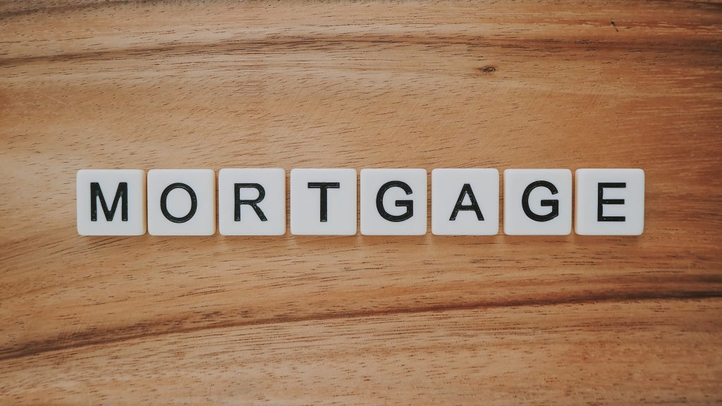 picture of Mortgage spelled out